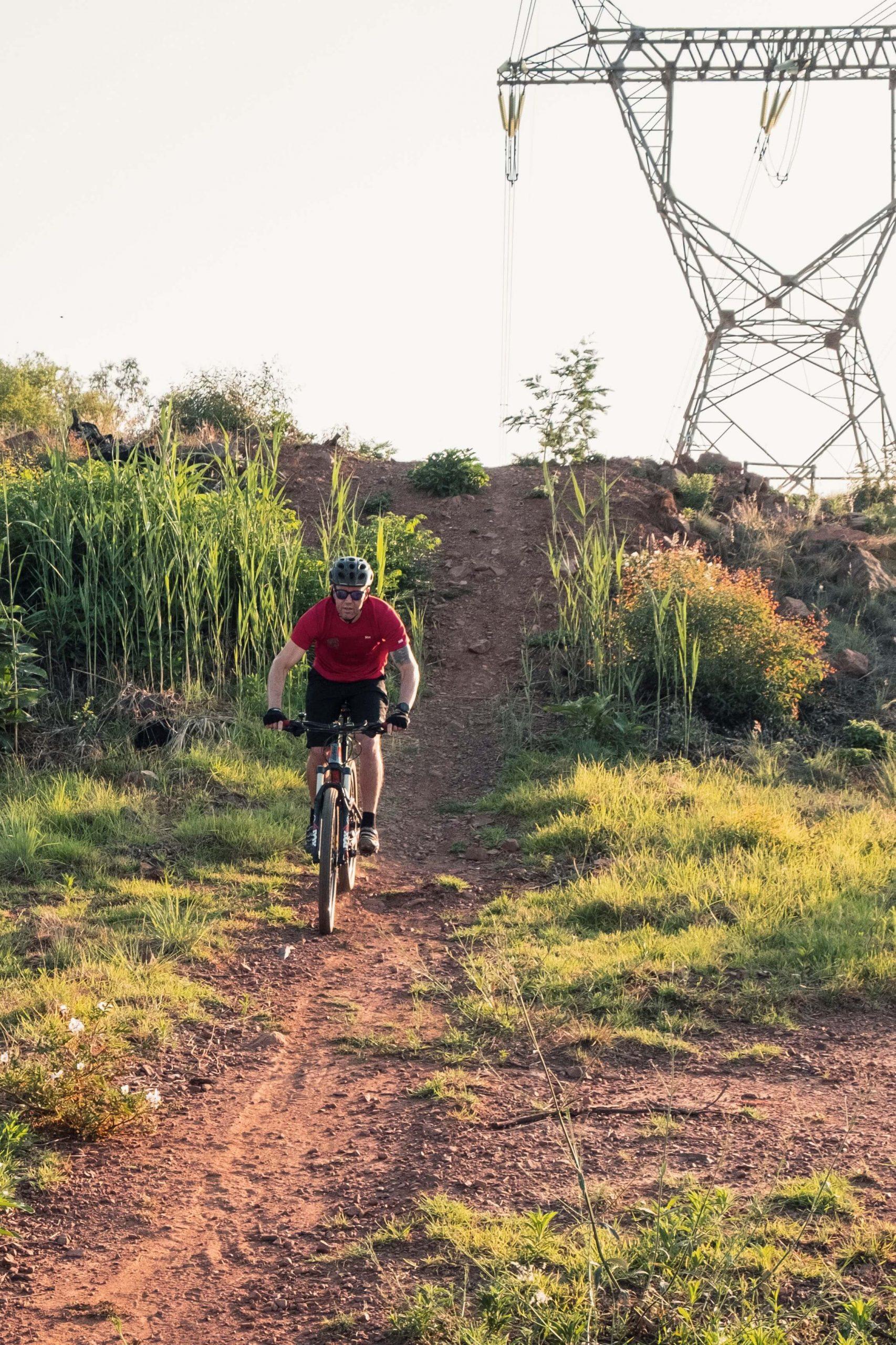 Black Single Track Trail